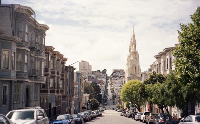 San Francisco Leica M3 Portra 160