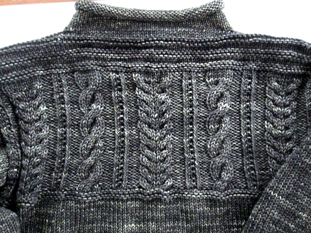 Free Knitting Patterns For Guernsey Sweaters : 370 Guernsey Pullover The Purling Pundit