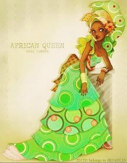 Mujer Africana Pintura Oleo