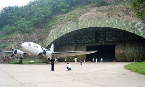 Hangar bawah tanah China