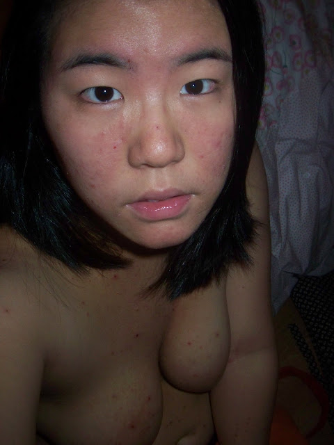 Ugly & Chubby Korean camwhore girl's really disgusting pussy, big boobs and masturbation photos leaked (37pix)