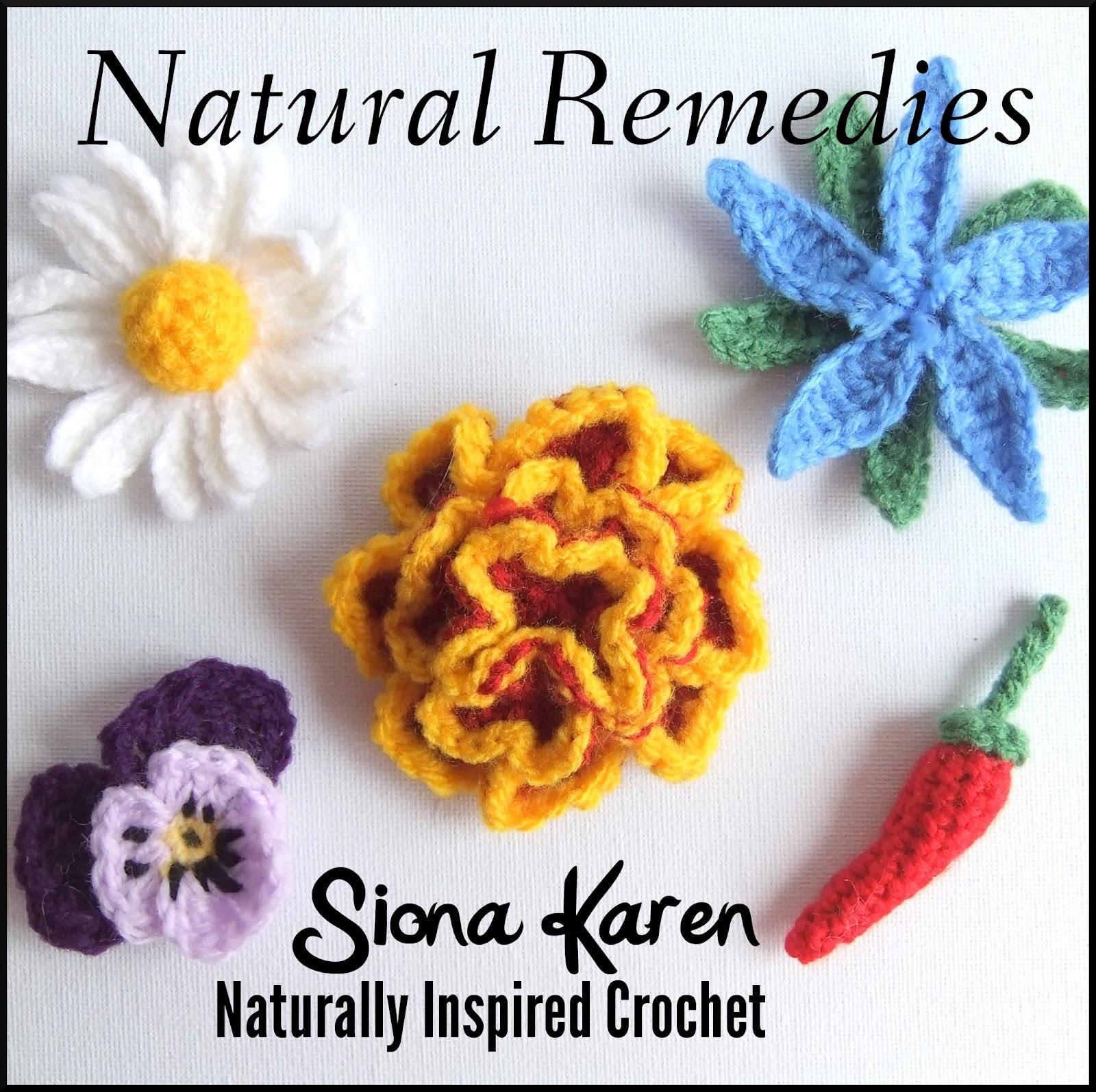 Free Crochet Zingy Pattern : Siona Karen : Crochet Patterns: Natural Remedies ebook