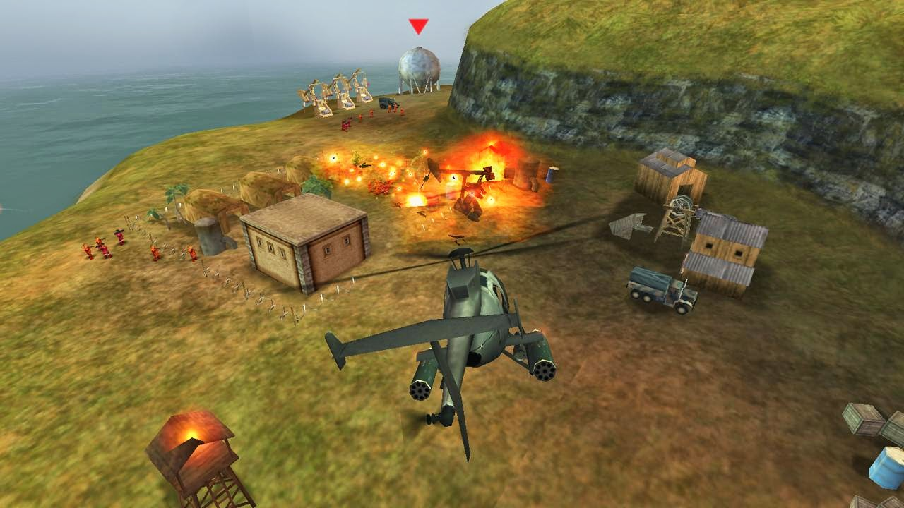 GUNSHIP BATTLE Helicopter 3D v1.1.0.apk