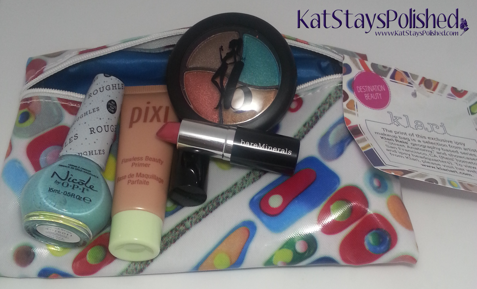Ipsy Glam Bag: March 2014 | Kat Stays Polished