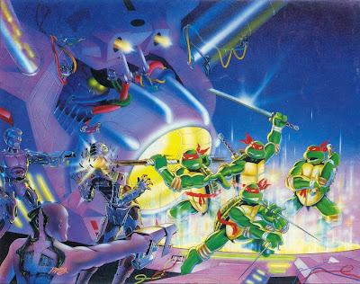 """Teenage Mutant Ninja Turtles"" -> Topic generaliste NESBoxArt01"