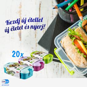 Nyerd meg a 20 db Curver Lunch & Go ételtartó doboz egyikét!