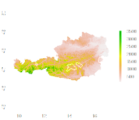 R GIS: Terrain Analysis for Polygons as Simple as it Gets!