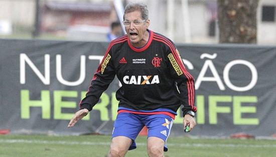Técnico assumiu Flamengo após a demissão de Cristóvão Borges
