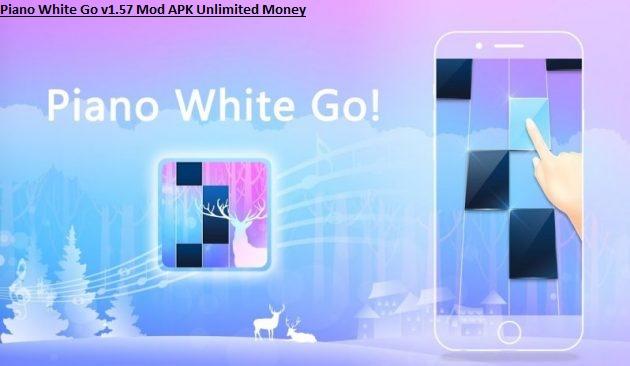 Piano White Go v1.57 Mod APK Unlimited Money
