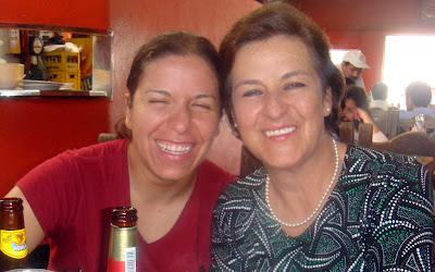 Angelica Bedoya Astrauskas y Gloria Astrauskas