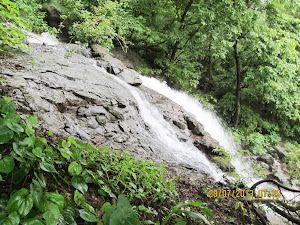 "First ""Monsoon waterfall"" on ""Shidi ghat Route""."