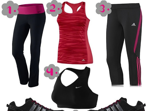Workout Wishlist - Sheactive and Sportsshoes