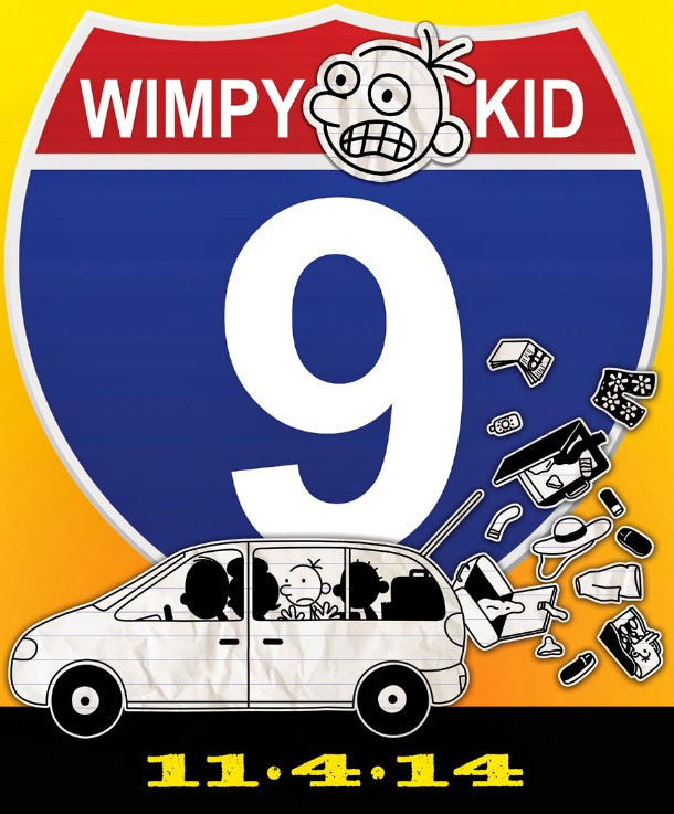 Wimpy Kid 9 by Jeff Kinney