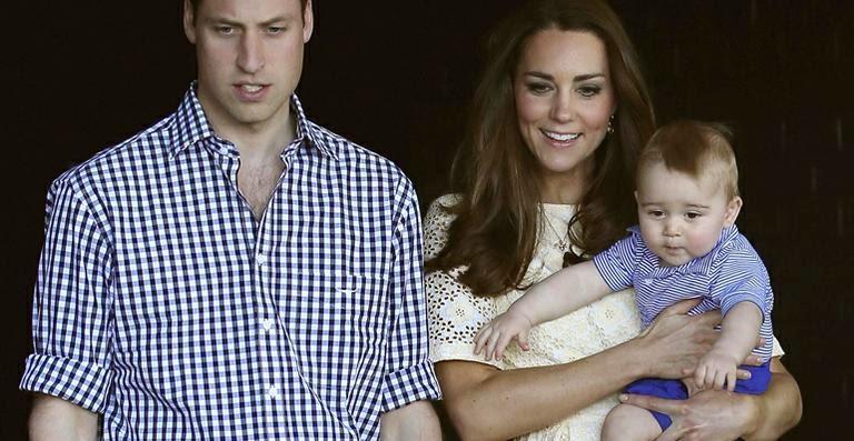 Primeiro ano da vida do príncipe George