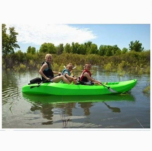 Lifetime Green Kayak