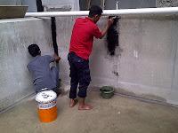 cara memasang waterproofing polyurethane