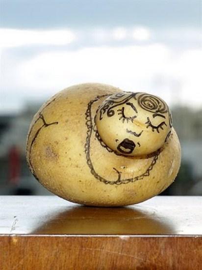 innocent pranks potato art