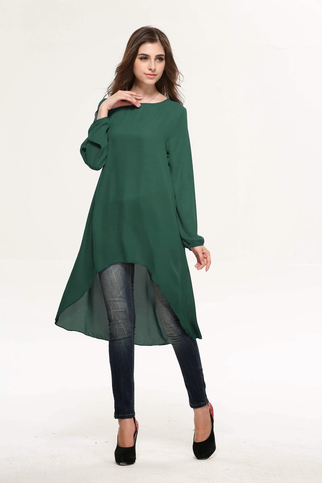 Infojelita Fesyen Blouse Terkini Korea Labuh For Sale | New Style for ...