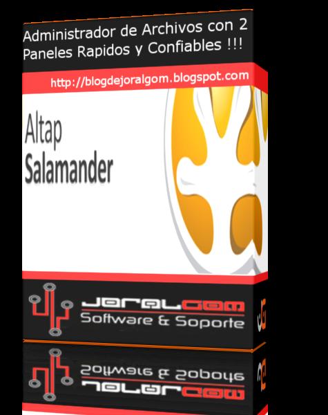 Altap Salamander v3.03 Administrador de Archivos con Dos Paneles Rapidos y Confiables !!!!