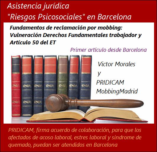 Mobbingmadrid Fundamentos de reclamación por mobbing: Vulneración Derechos Fundamentales trabajador y Artículo 50 del ET