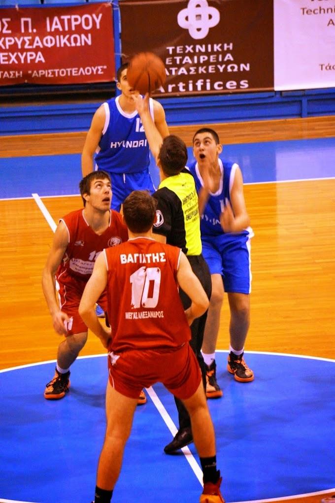 Τρίτη θέση στο αναπτυξιακό τουρνουά του ΣΔΚΘ για την Γεωργιανή Τμπιλίσι-Επικράτησε με 55-67 του Μεγάλου Αλεξάνδρου-Φωτορεπορτάζ από το παιχνίδι