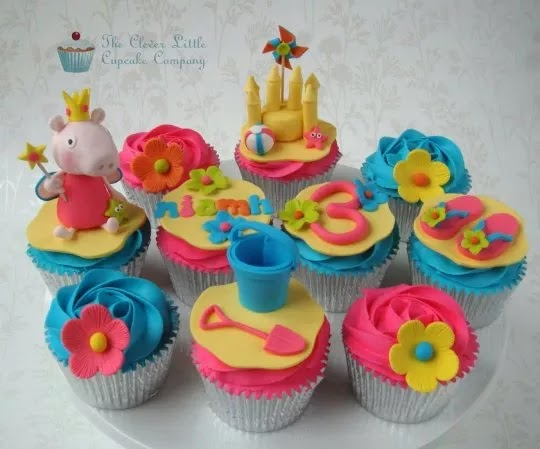 peppa pig cupcake ideas