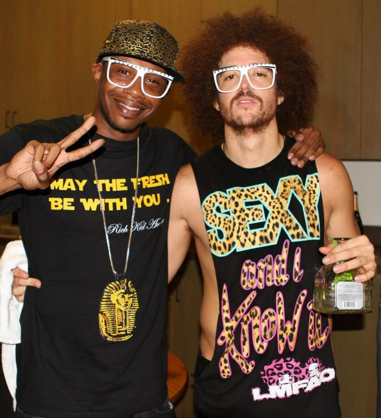 DR.B &amp; LMFAO ( RED FOO )