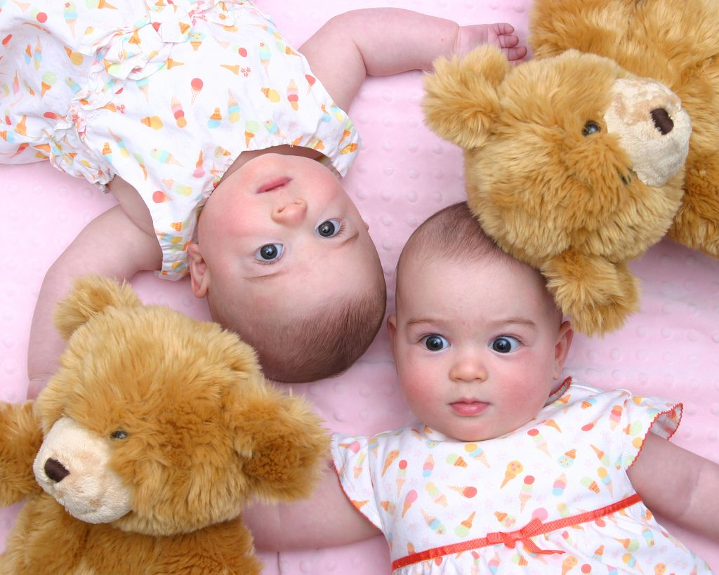 27. Two babies two bears