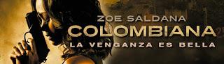 Cartel promocional de la película Colombiana