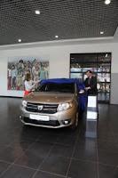 O clienta din Romania este posesoarea vehiculului Dacia Logan cu numarul 1.500.000