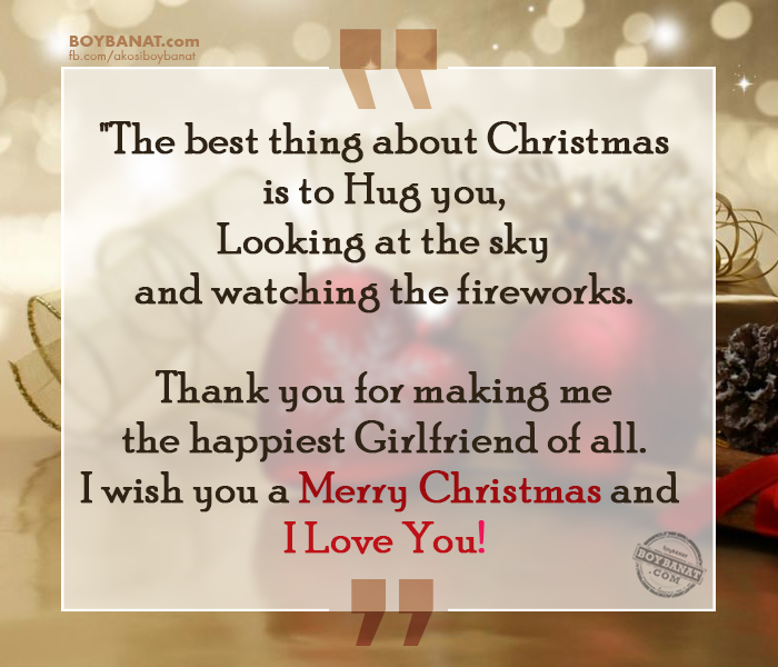 Romantic Christmas Quotes And Messages For Your Boyfriend