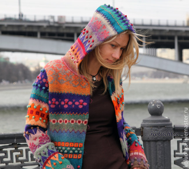 art knitting sweaters