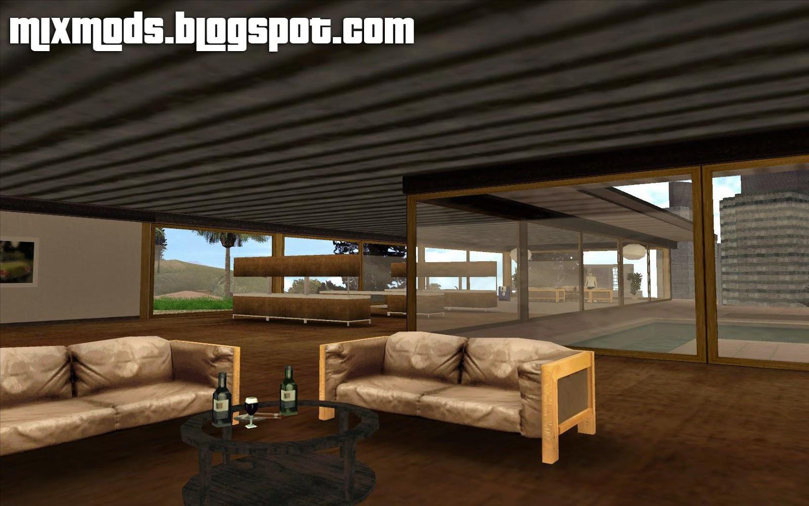 Mixmods beta mulholland safehouse casa das colinas for Casa moderna gta sa