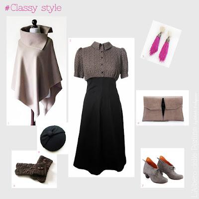 Outfit per uno stile vintage classico chic di lalberodelleprline