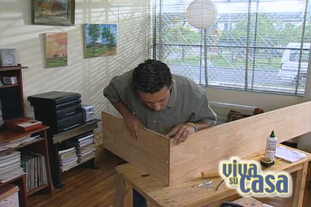 Fabricación repisa estante de madera