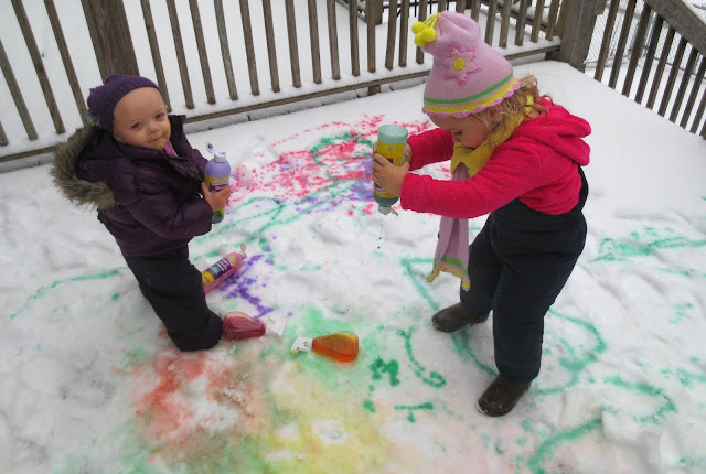Kool-aid Snow Paint Recipe