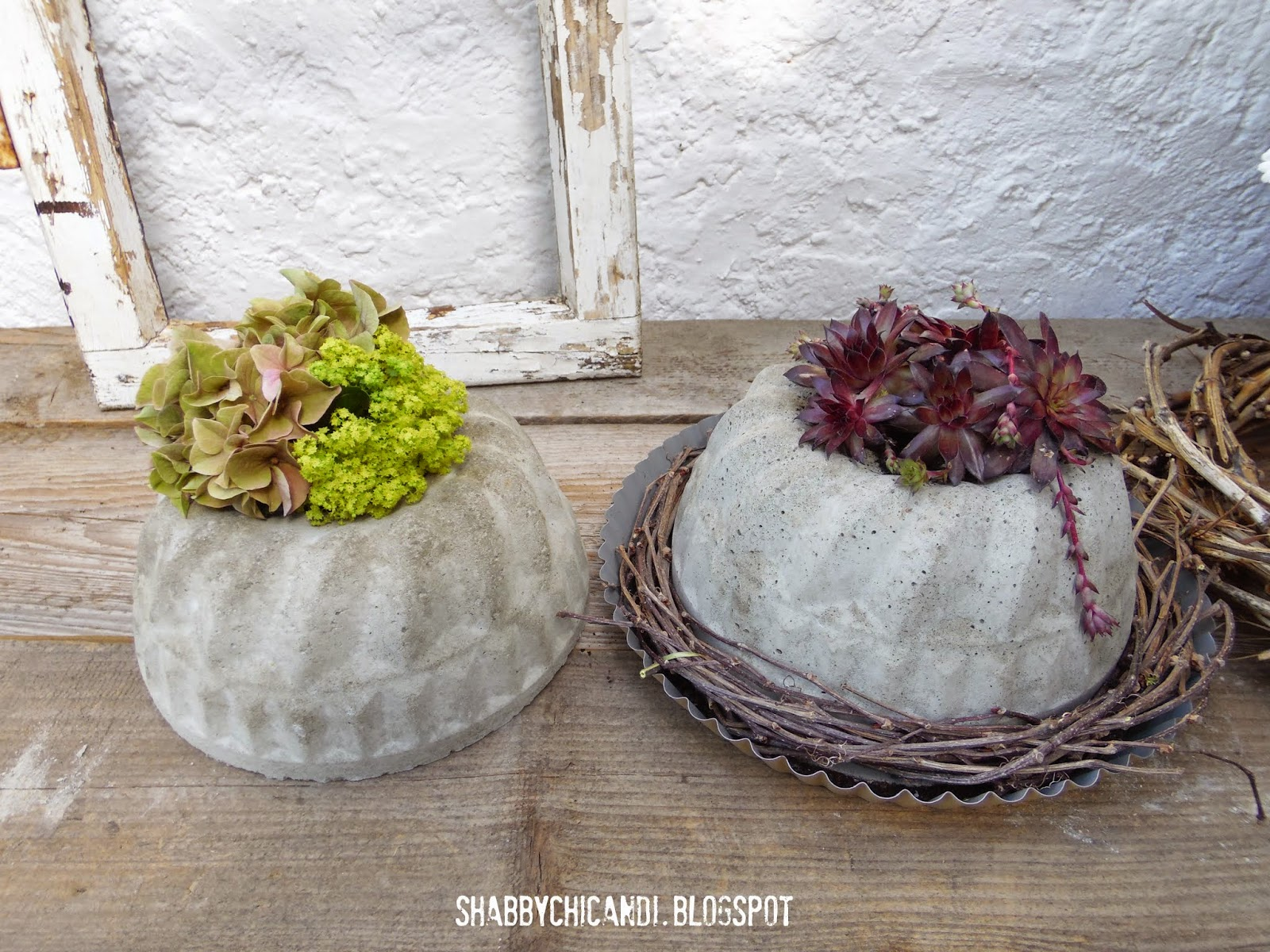 Shabby chic and i shabby chic diy und deko diy backe for Deko gartentisch