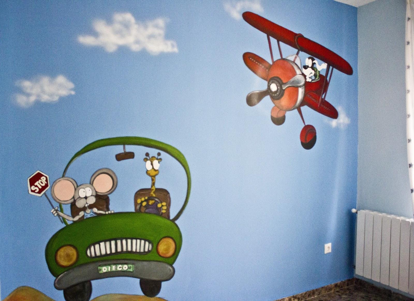 Fotos murales infantiles imagui for Murales infantiles