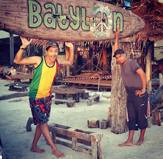 Artis Selebriti Qi Razali Nelydia Senrose Bercuti Pulau Langkawi