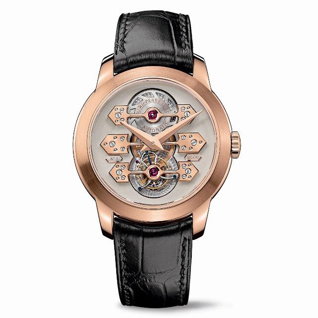 Girard-Perregaux Tourbillon with three gold Bridges Watch pink gold