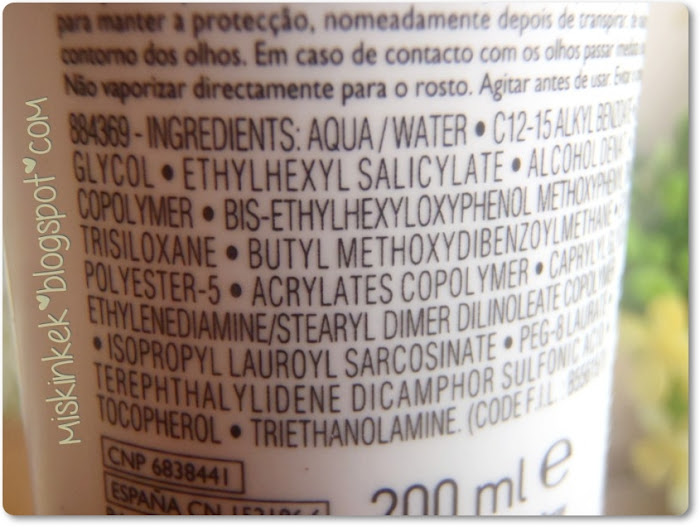 ingredients la roche posay