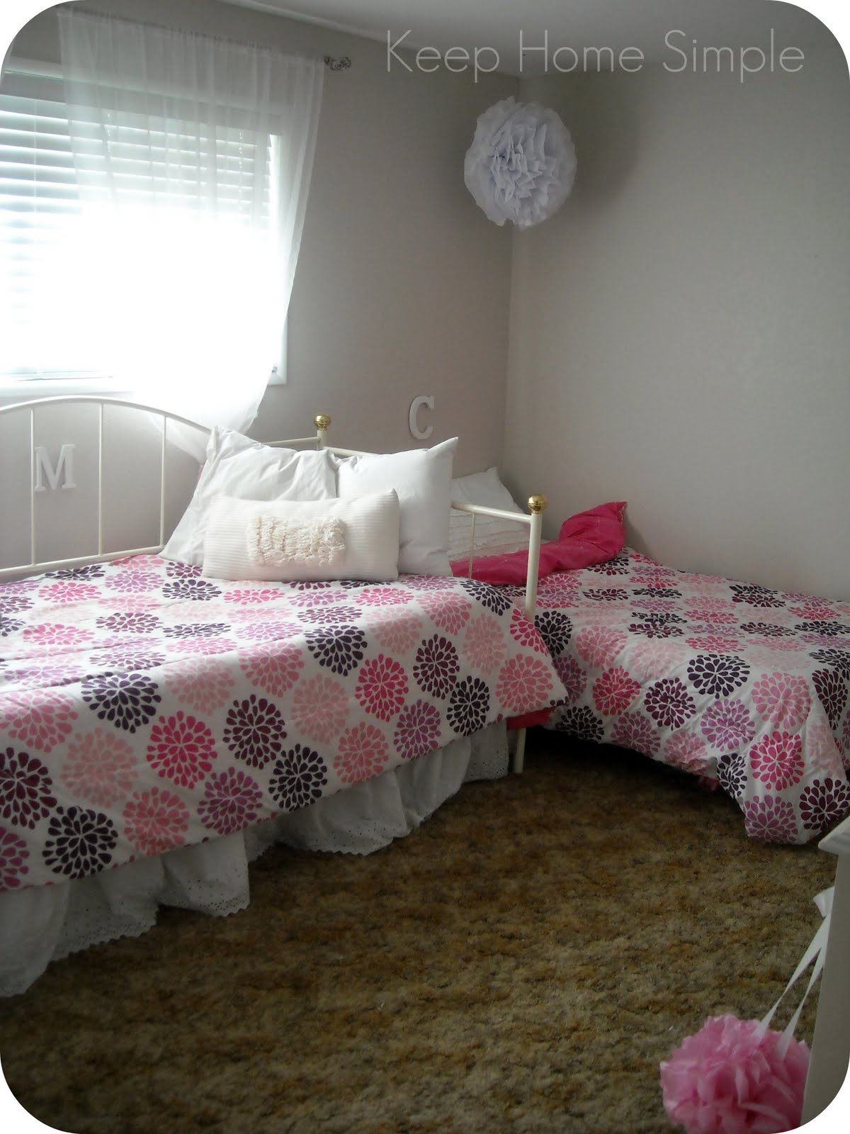 Keep Home Simple The Girls Room