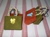 souvenir gantungan kunci tas goni Rp.1600/@