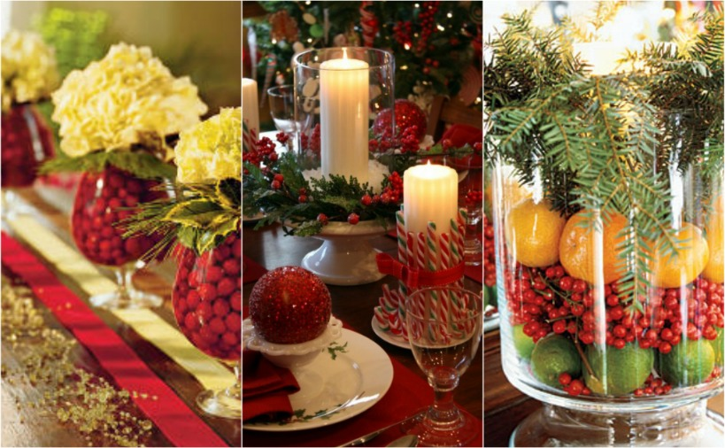 Beautiful bridal christmas wedding centerpiece ideas