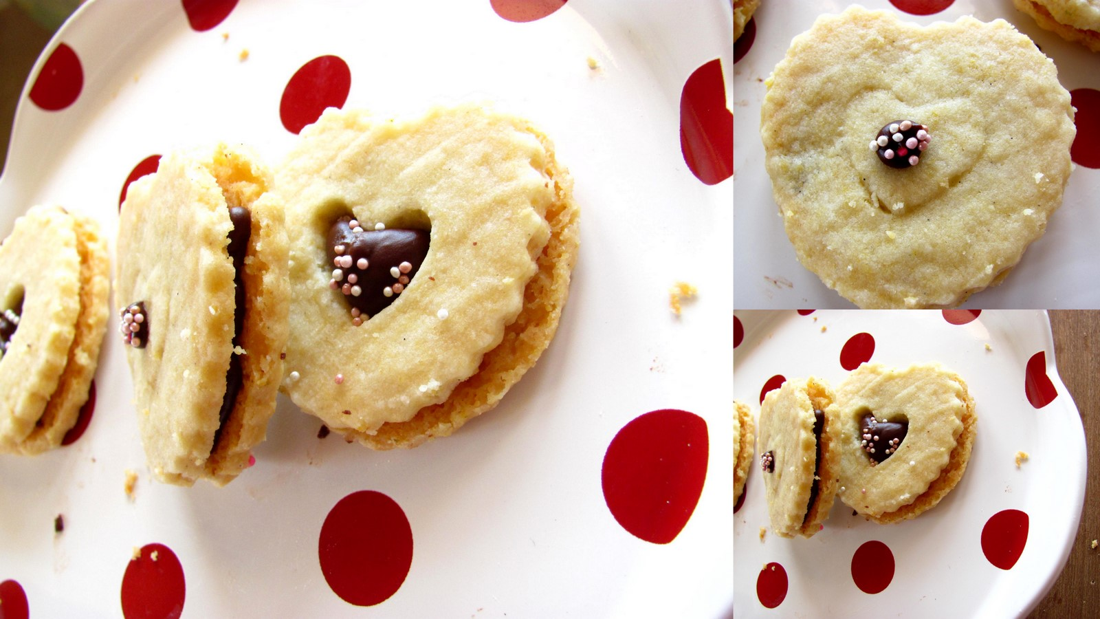 ... ♥: BUTTERY CRUNCHY LEMON VANILLA CORNMEAL SHORTBREAD COOKIES @ BWD