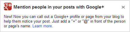 GOOGLE PLUS NEW FUNCTION