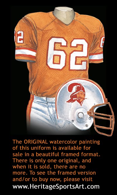 a1bf0d2ff Tampa Bay Buccaneers Uniform and Team History | Heritage Uniforms ...