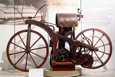 gambar sepeda motor ontel jadul