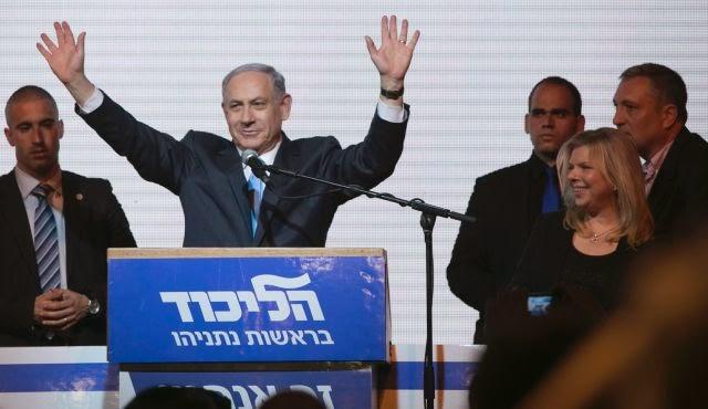 Netanyahu vence as eleições em Israel com uma clara margem de diferença