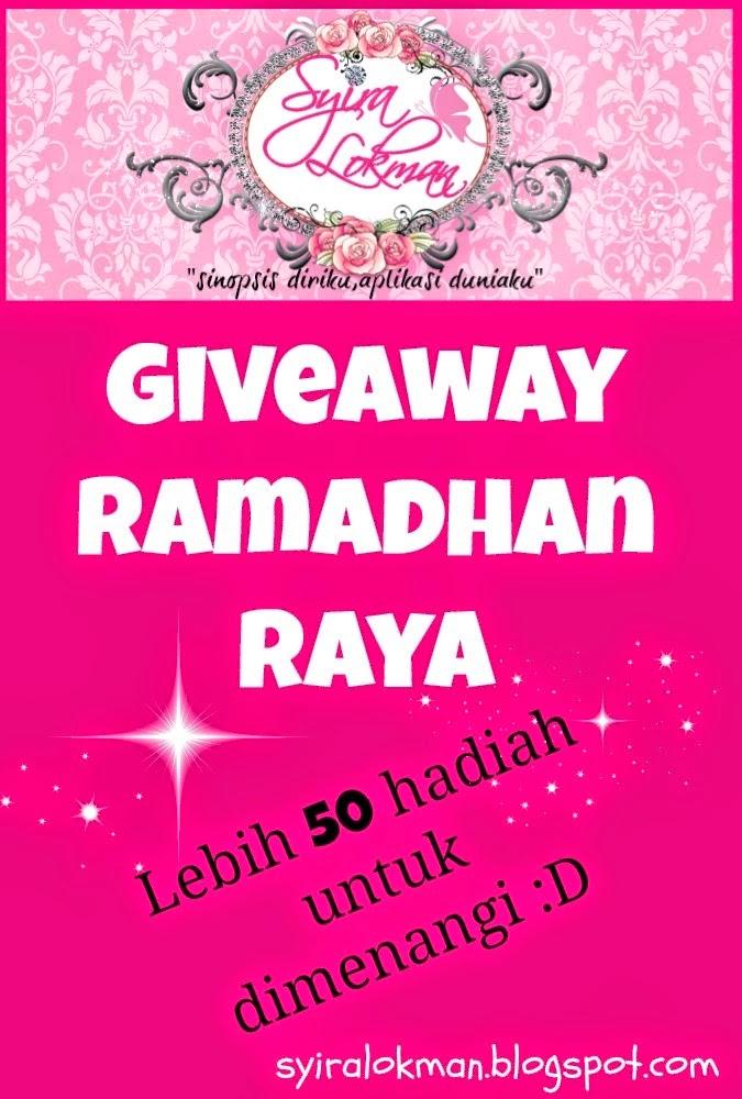"""Giveaway Ramadhan Raya by Syira Lokman"""